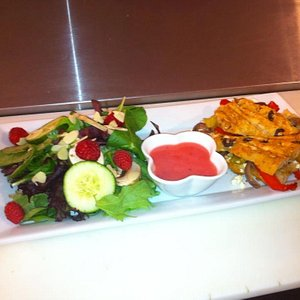 Come and enjoy a selection of Sandwiches, Wraps, Salads, deserts and home made soups.