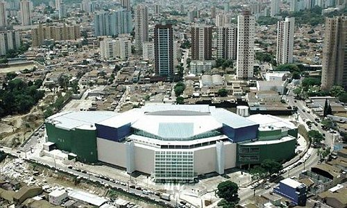 Vista aérea Shopping Taboão