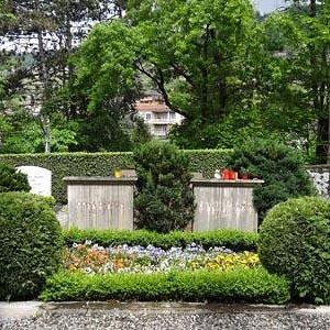 チャップリンの墓