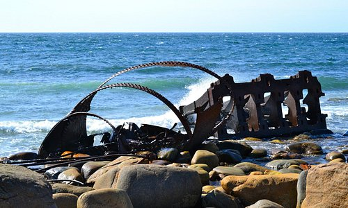Main part of the wreck