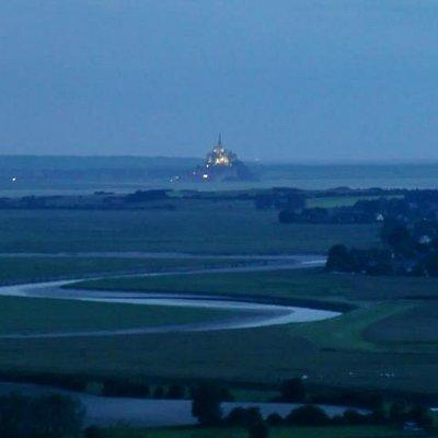 Mont Saint Michel desde el Jardin des Plantes