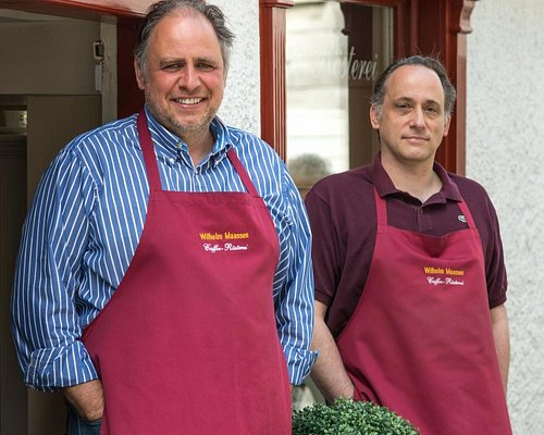 Peter&Werner Maaßen, Inhaber der Caffee-Rösterei Wilh. Maassen