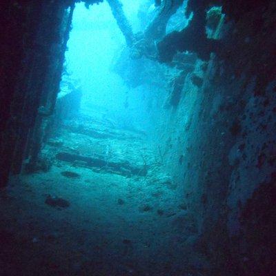USCG Bibb swim through