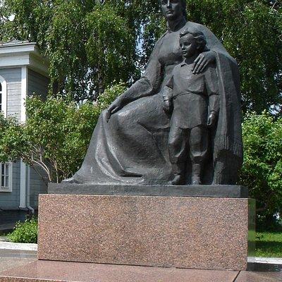 Lenin museum in Ulyanovsk, Russia