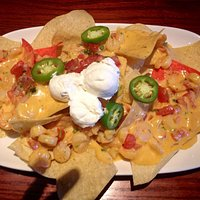 Really good shrimp nachos