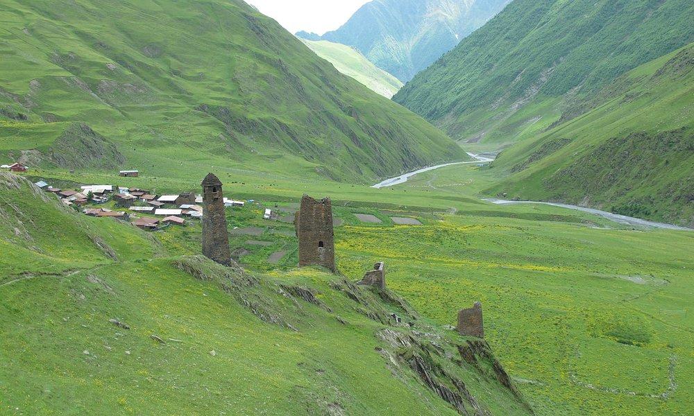 towers in tusheti abive chesho