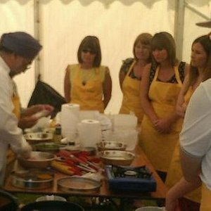 pop up event at the Great British Food Festival at Shugbough Hall