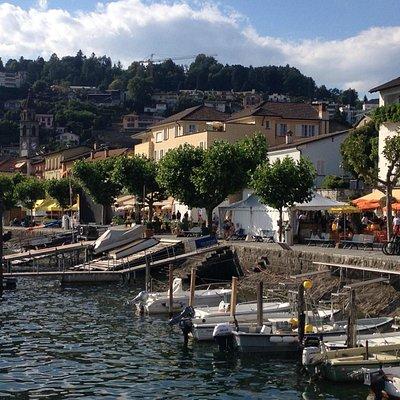 Lungolago Ascona - giugno 2014