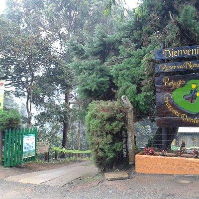 Entrada a la Reserva Natural