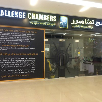 The outside of Challenge Chambers