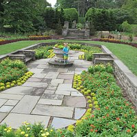 One of the many gardens.