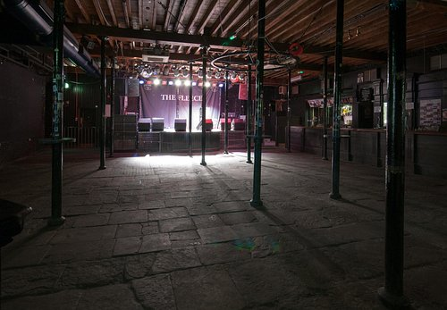 Stage from main entrance
