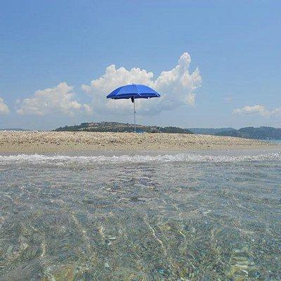 Possidi Lighthouse beach