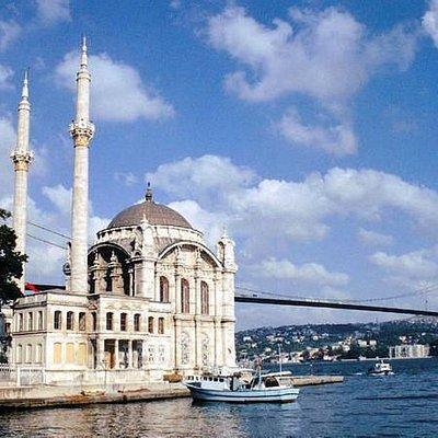Ortakoy and Bosphorus Bridge