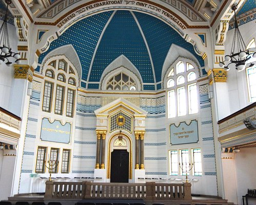 The restored synagogue.