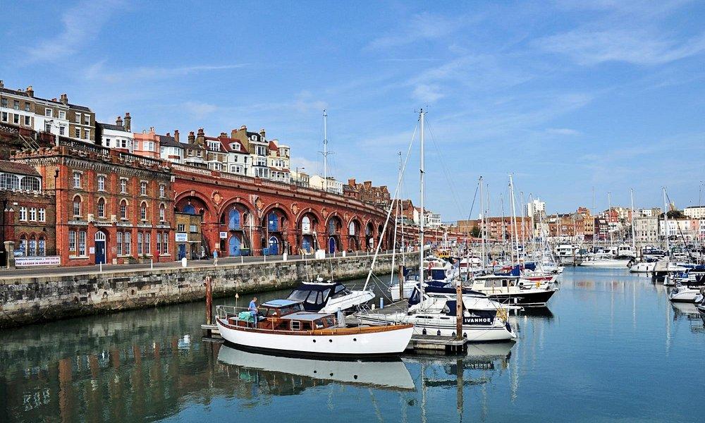 Ramsgate Marina.