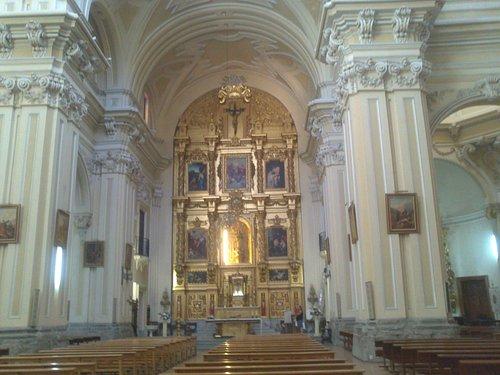 Altar mayor.