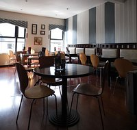 Upstairs seating available at Gwen's. Groups catered for.