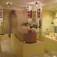 Museu de Arqueologia - Segunda sala sobre o Egito Antigo