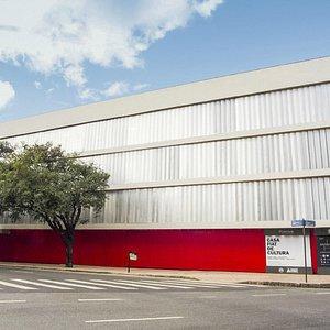 Fachada da nova sede da Casa Fiat de Cultura na Praça da Liberdade