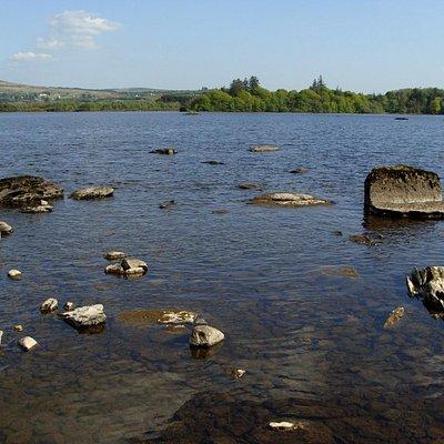 Lough Eske shores by M. Flagler