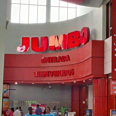 Jumbo entrance.