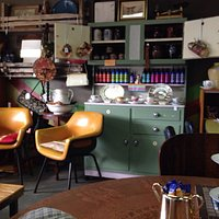 A fascinating & welcoming mix of old wares & furnishings.