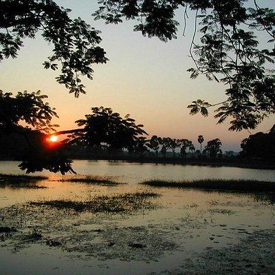 Sunset in Hazaribagh Lake