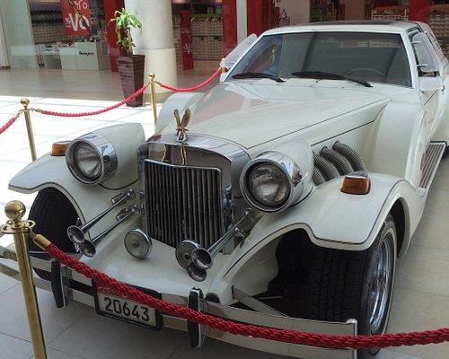 Classic cars exhibition at Wahat Al Hili Mall