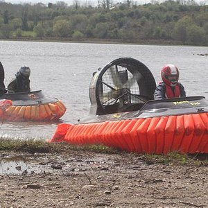 hovercrafts on Brackley Lough at ODD