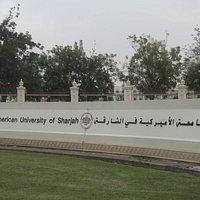 Entrée de l'Université Américaine