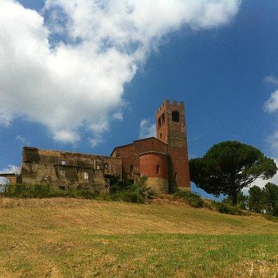Abside della Pieve di San Giovanni Battista a Corazzano