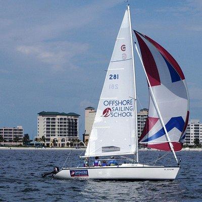 Offshore Sailing School from Pink Shell Beach Resort & Marina