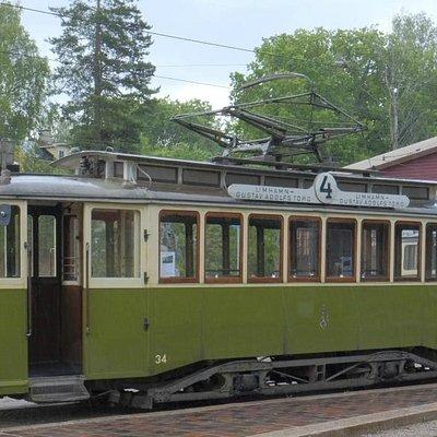 Gamla 4:an som tjänstgjort i Malmö stad.