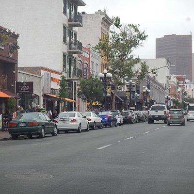 San Diego strret