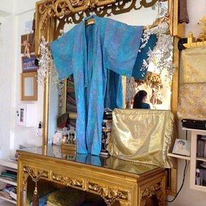 Real batik shirts and kimonos at Bamboo Boutique, Jalan Jembawan, Ubud.