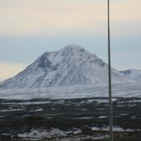 Mt. Keilir  seen from Keflavik