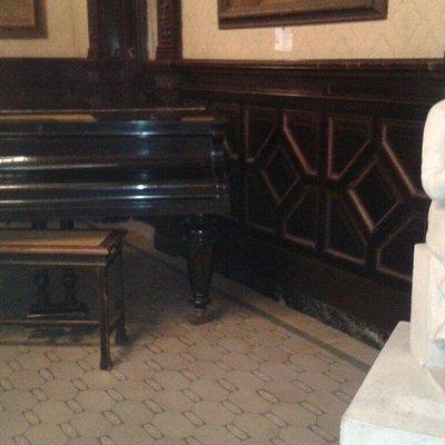 Museo Gallino. Entrada