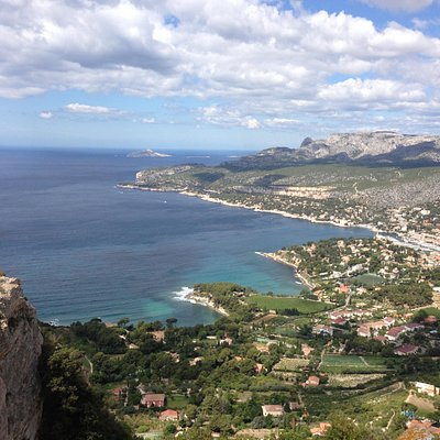 View over Cassis