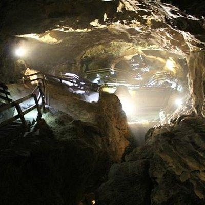 enormous cavern