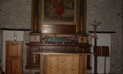 Interno della Chiesa San Luca