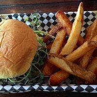 Fantastic burger and fries!