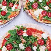 pizza primavera sem glúten