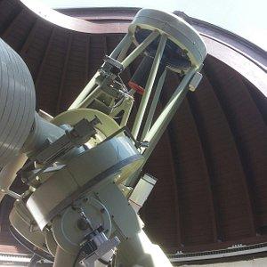 Astronomiemuseum -Teleskop