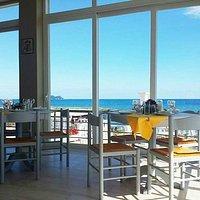Indoors restaurant view