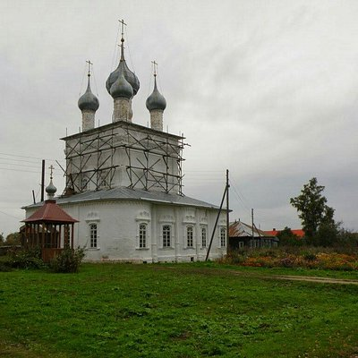 церковь почти восстановлена