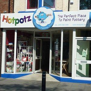 Hotpotz Ceramic Painting Studio exterior