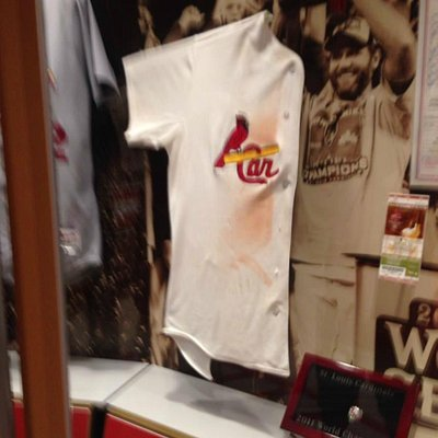 David Freese's 2011 Game Six jersey