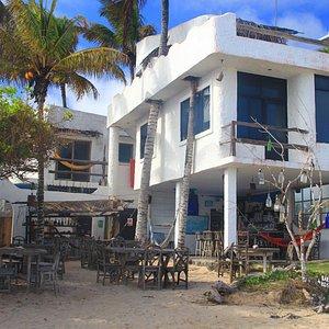 Beto's Bar from the beach