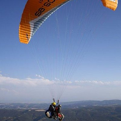Tandem flight with Albatros Escola de Vol